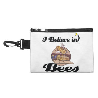 i believe in bees accessory bags