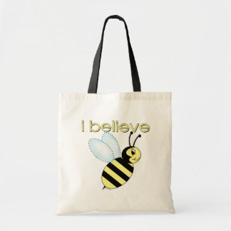 I believe in Bees Budget Tote Bag