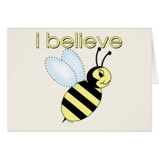 I believe in Bees Cards
