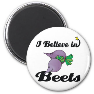 i believe in beets fridge magnets