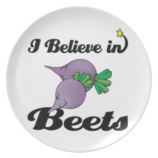 i believe in beets plate