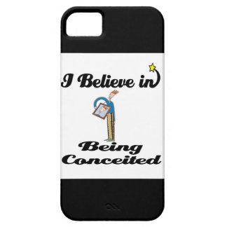 i believe in being conceited iPhone SE/5/5s case