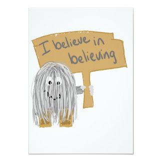 i believe in believing card