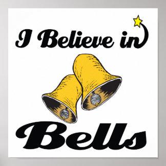 i believe in bells poster