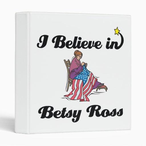 i believe in betsy ross 3 ring binders