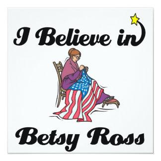i believe in betsy ross custom invitation