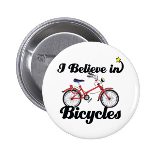 i believe in bicycles pinback button