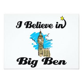 i believe in big ben invites