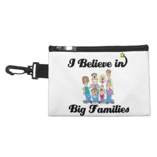 i believe in big families accessories bags