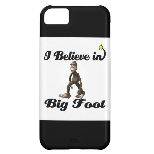i believe in big foot iPhone 5C cover