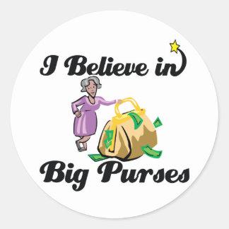 i believe in big purses stickers
