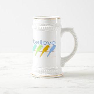 I believe in birds mugs