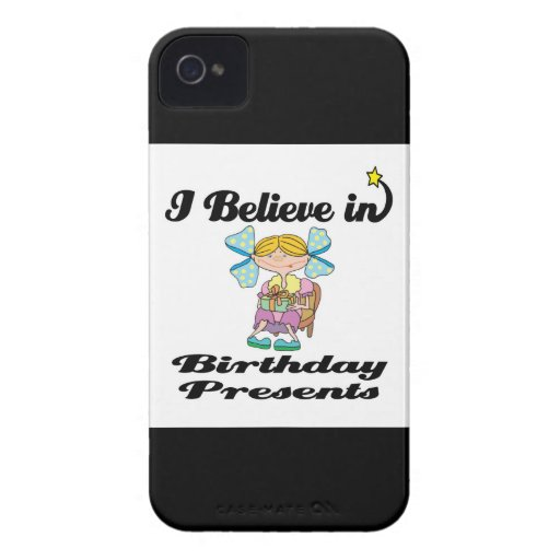 i believe in birthday presents iPhone 4 cover