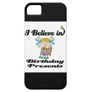 i believe in birthday presents iPhone SE/5/5s case