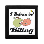 i believe in biting keepsake box