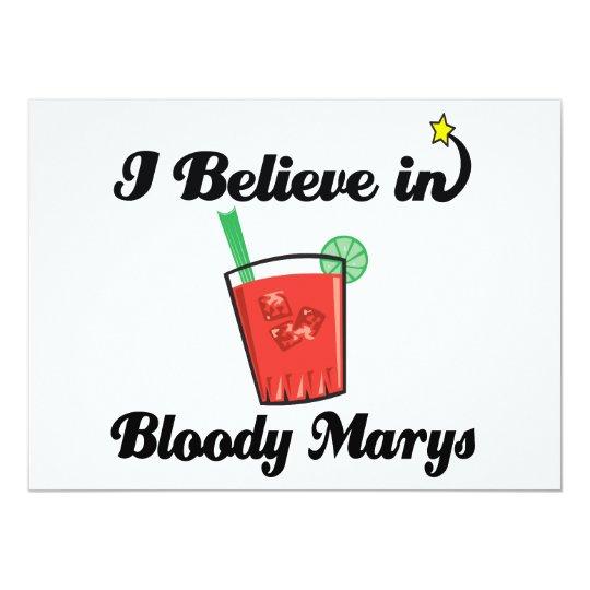 i believe in bloody marys card