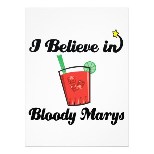 i believe in bloody marys announcement