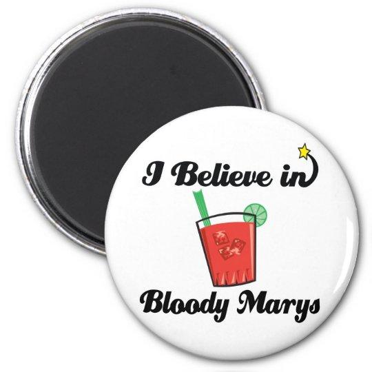 i believe in bloody marys magnet