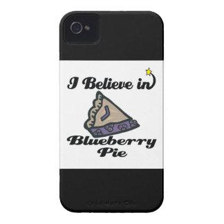 i believe in blueberry pie iPhone 4 cases