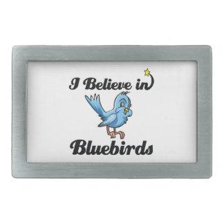 i believe in bluebirds belt buckles
