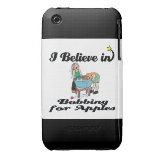 i believe in bobbing for apples iPhone 3 Case-Mate cases