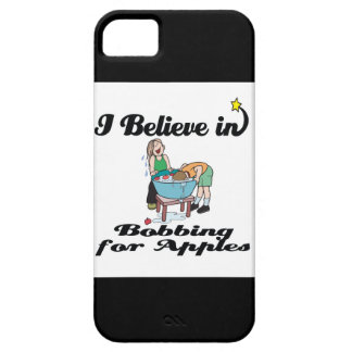 i believe in bobbing for apples iPhone 5 cases