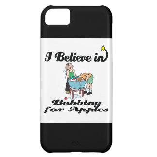 i believe in bobbing for apples iPhone 5C case