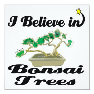 i believe in bonsai trees announcements
