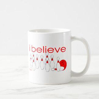 I believe in Bowling Coffee Mugs