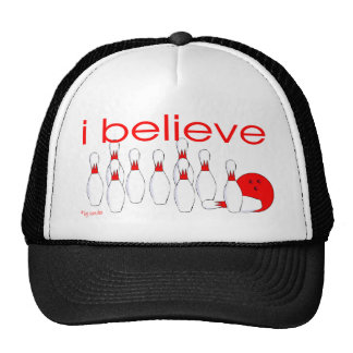 I believe in Bowling Mesh Hat