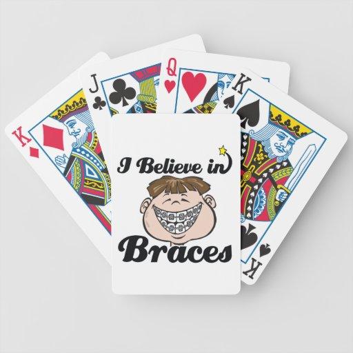 i believe in braces deck of cards