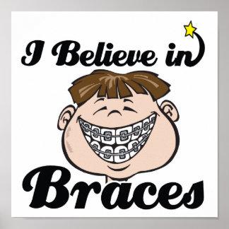 i believe in braces print