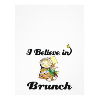 i believe in brunch full color flyer