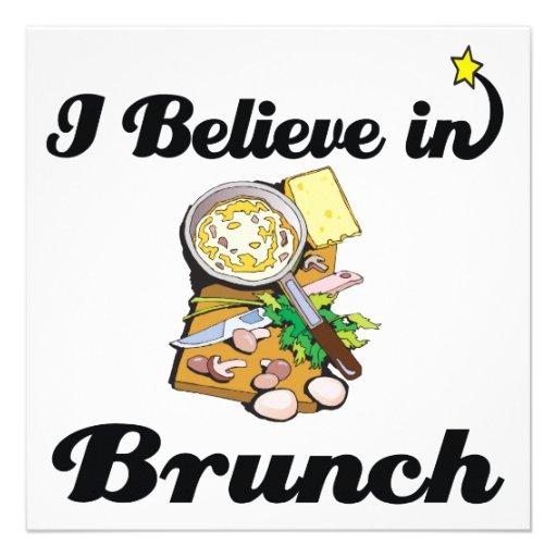 i believe in brunch invites
