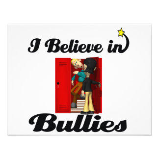 i believe in bullies invites