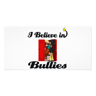 i believe in bullies photo cards