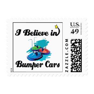 i believe in bumper cars stamp