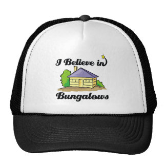 i believe in bungalows mesh hats