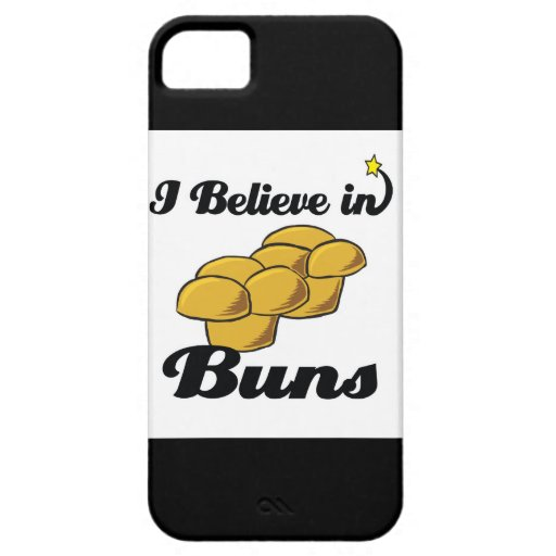 i believe in buns iPhone 5 cover
