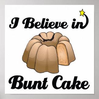 i believe in bunt cake poster