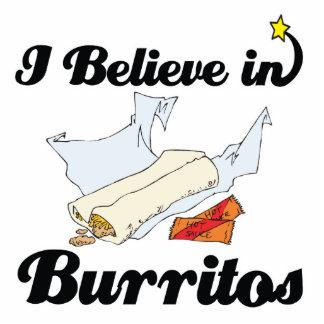 i believe in burritos statuette