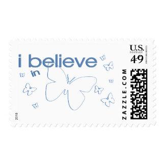 I believe in Butterflies Postage
