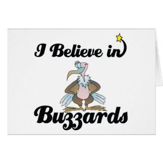 i believe in buzzards card