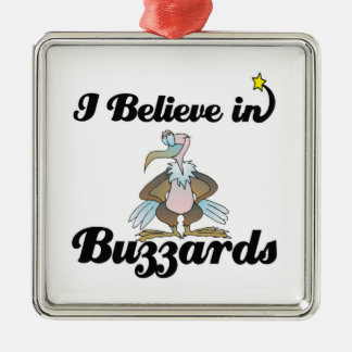 i believe in buzzards christmas ornament