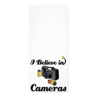 i believe in cameras rack card template