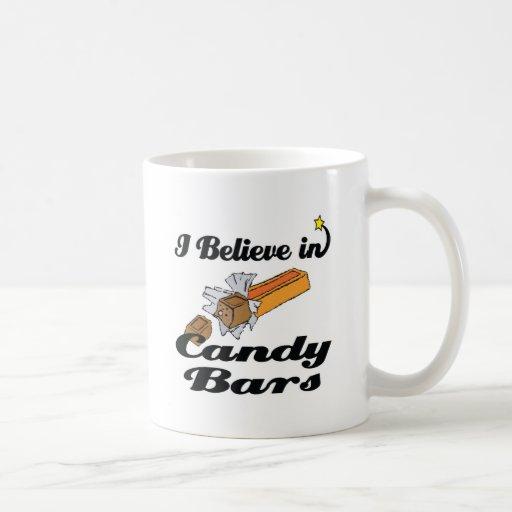 i believe in candy bars mug
