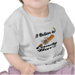 i believe in candy bars tshirt