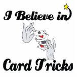 i believe in card tricks photo sculptures
