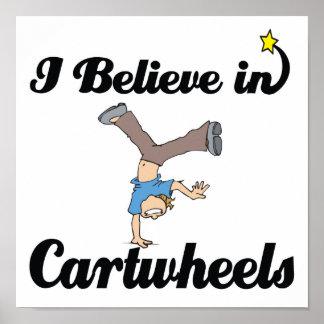i believe in cartwheels poster