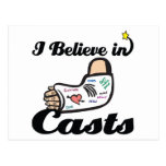 i believe in casts post cards